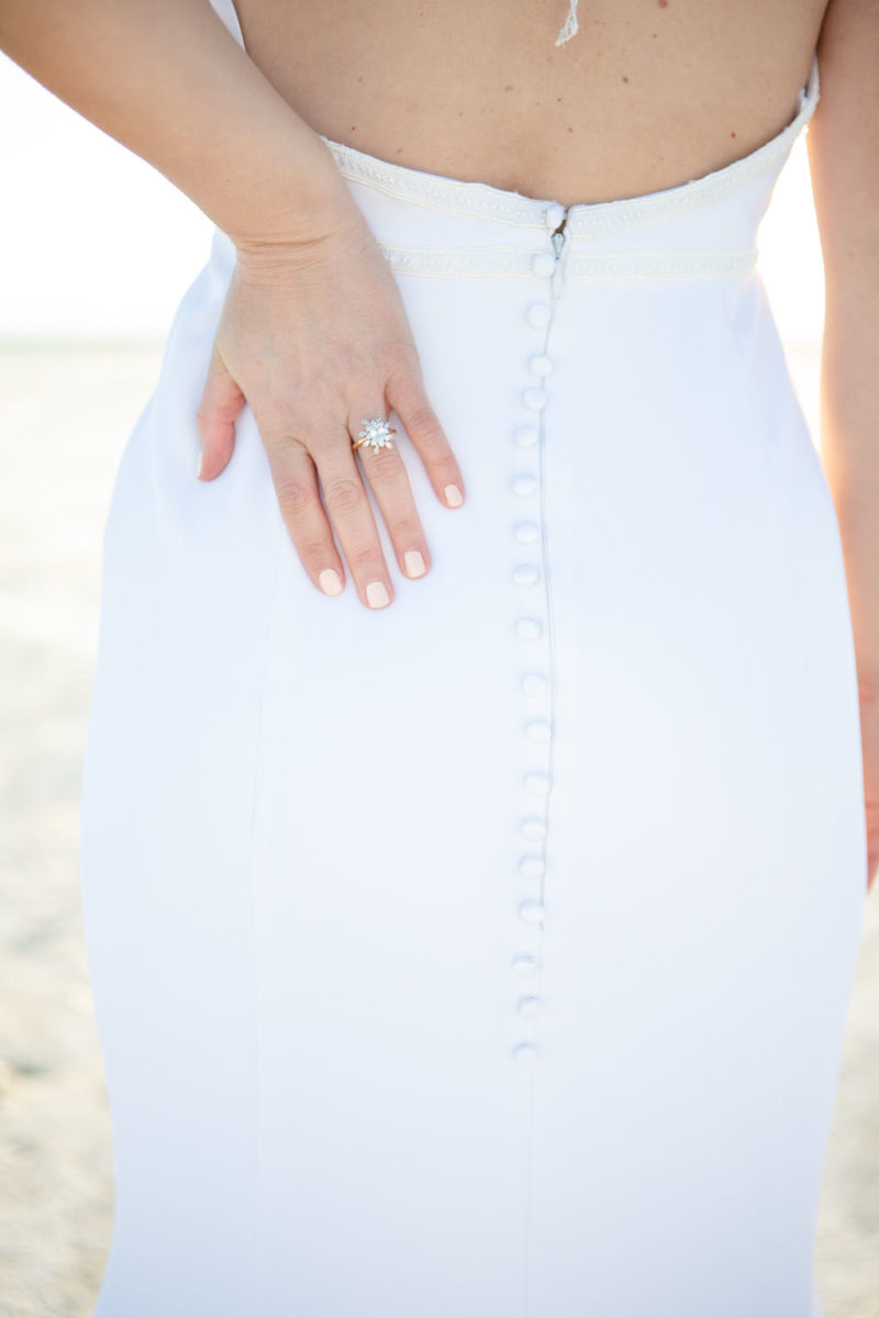 Simple Elegant Modern Goli June Brighton Wedding Dress Victoria Chukarov Salt Flats Utah 17