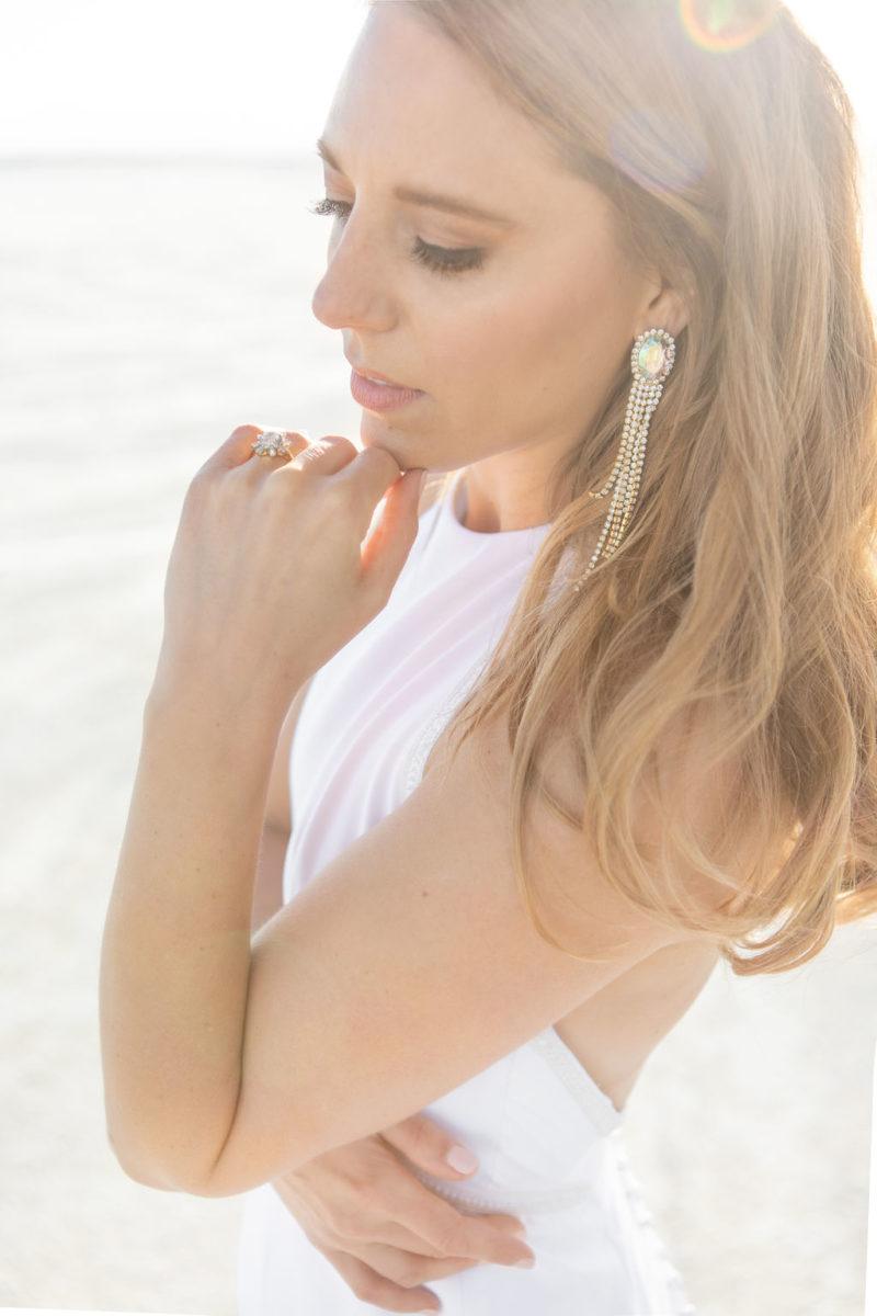 Simple Elegant Modern Goli June Brighton Wedding Dress Victoria Chukarov Salt Flats Utah 6