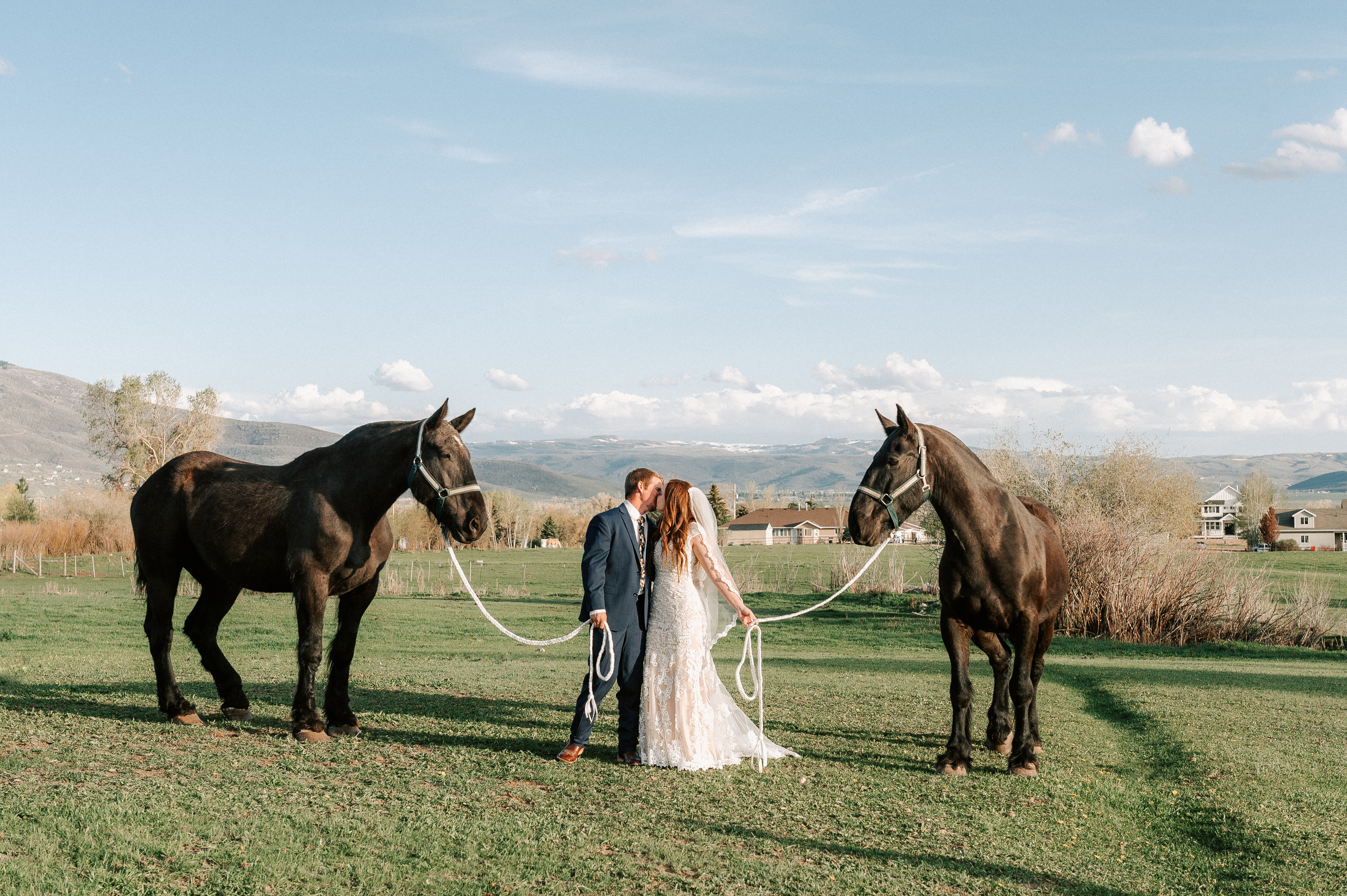 Classic Wedding Dress Cowboy Boots Horse Ranch Tew Treasures Photography 3