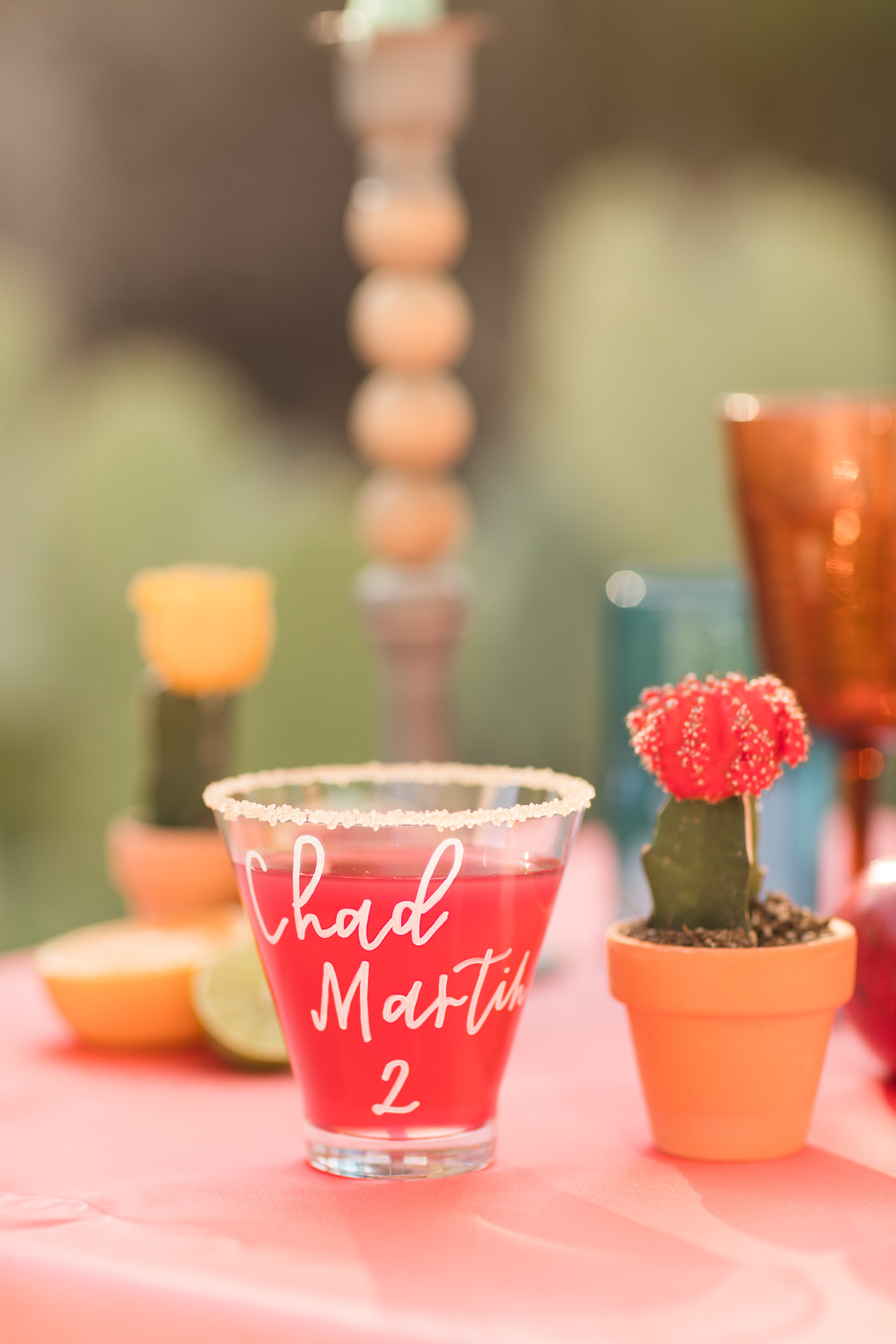 Fun Wedding Cocktails Calligraphy Citrus Shoot Pure In Art Photography