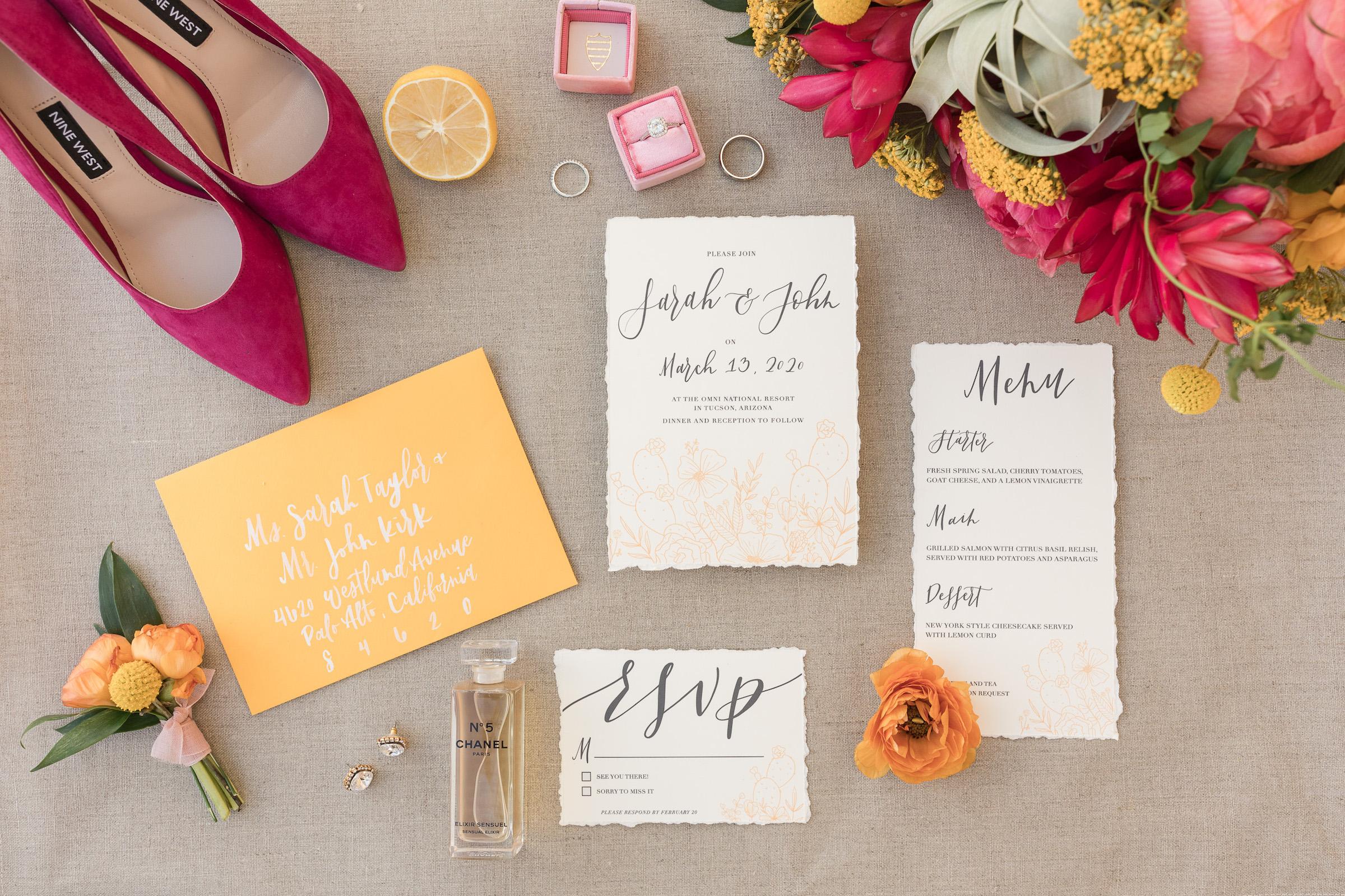Sonoran Desert Citrus Inspired Wedding Shoot Pure In Art Photography23