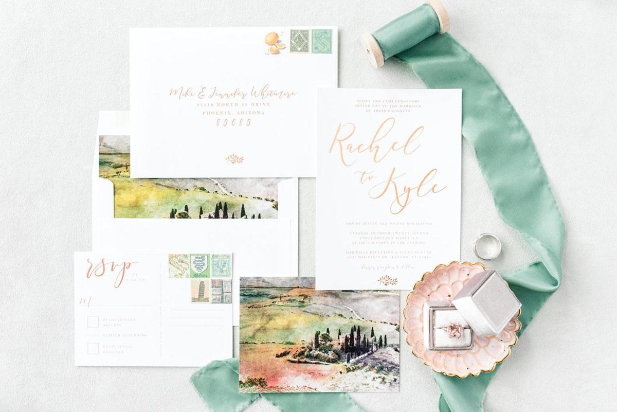 A Taste of Italy Inspired Wedding