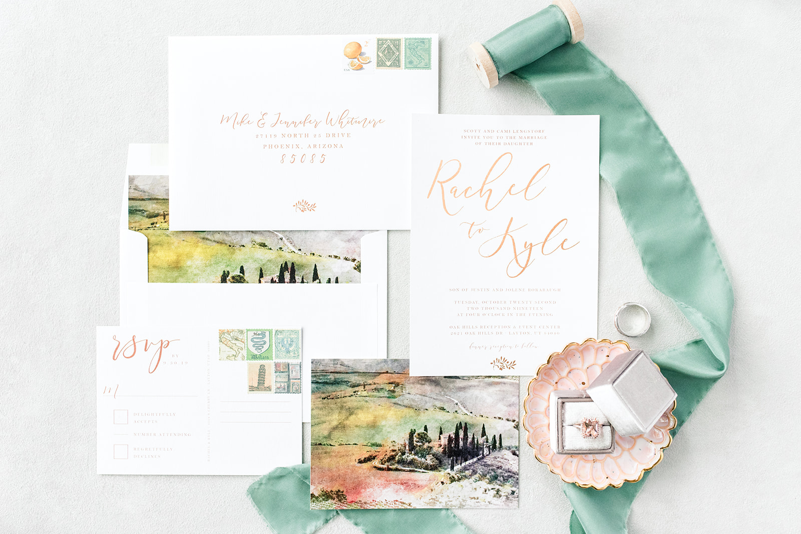 A Taste of Italy Inspired Wedding