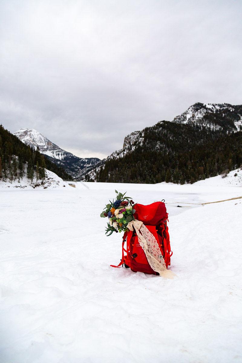 Eco Friendly Wedding Bouquet Faux Flowers Wild Escape Florals Halie West Photography 2