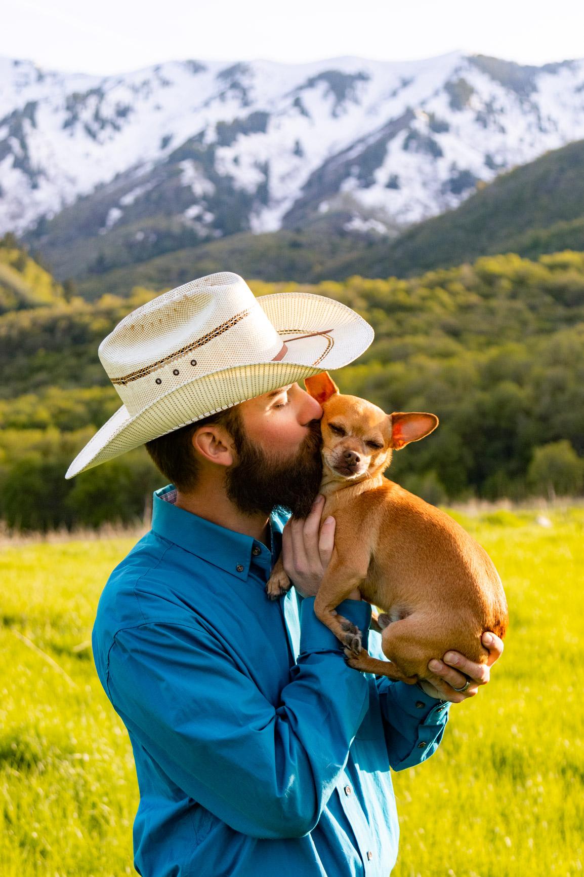 Utah Rocky Mountain Elopement Wasatch Mountains Bridal Shoot Halie West Adventure Photography 1