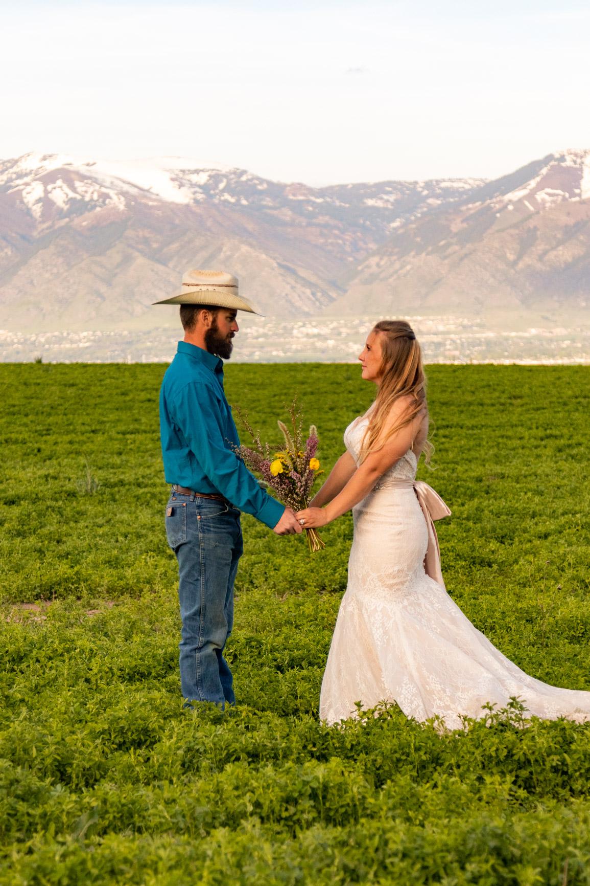 Utah Rocky Mountain Elopement Wasatch Mountains Bridal Shoot Halie West Adventure Photography 12