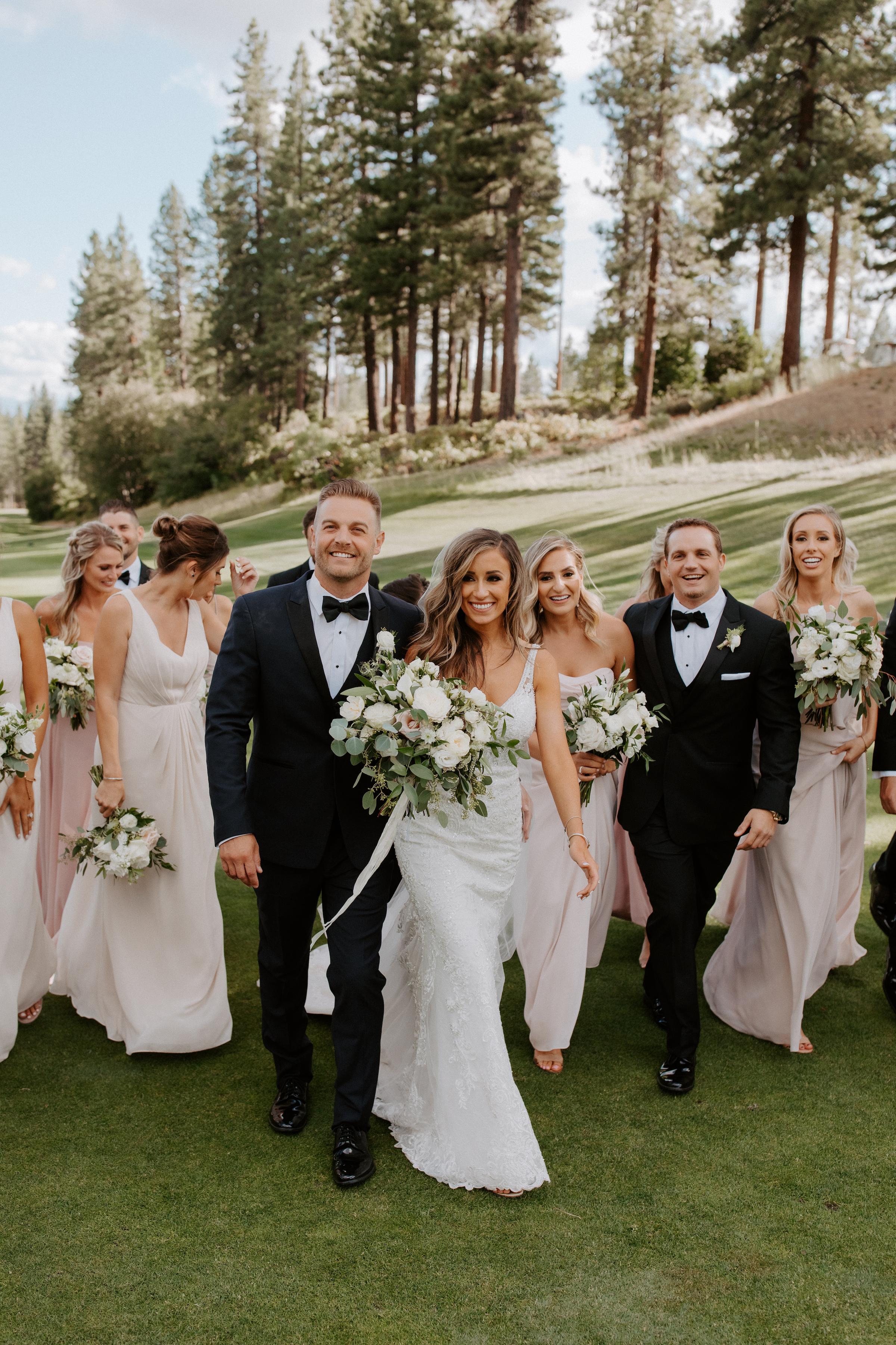 Neutral Toned Timeless Lake Tahoe Wedding Kay Kroshus12