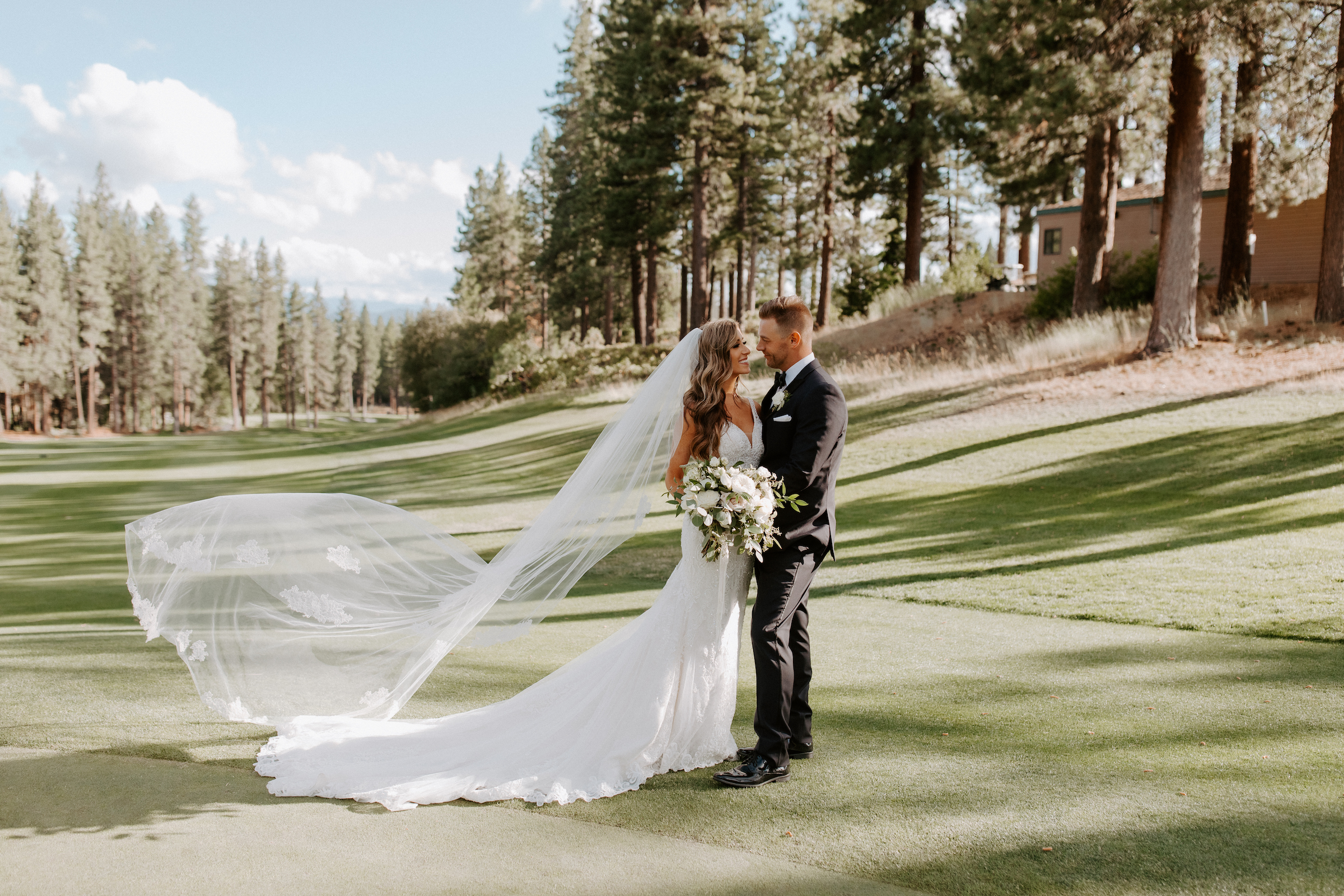 Neutral Toned Timeless Lake Tahoe Wedding Kay Kroshus13