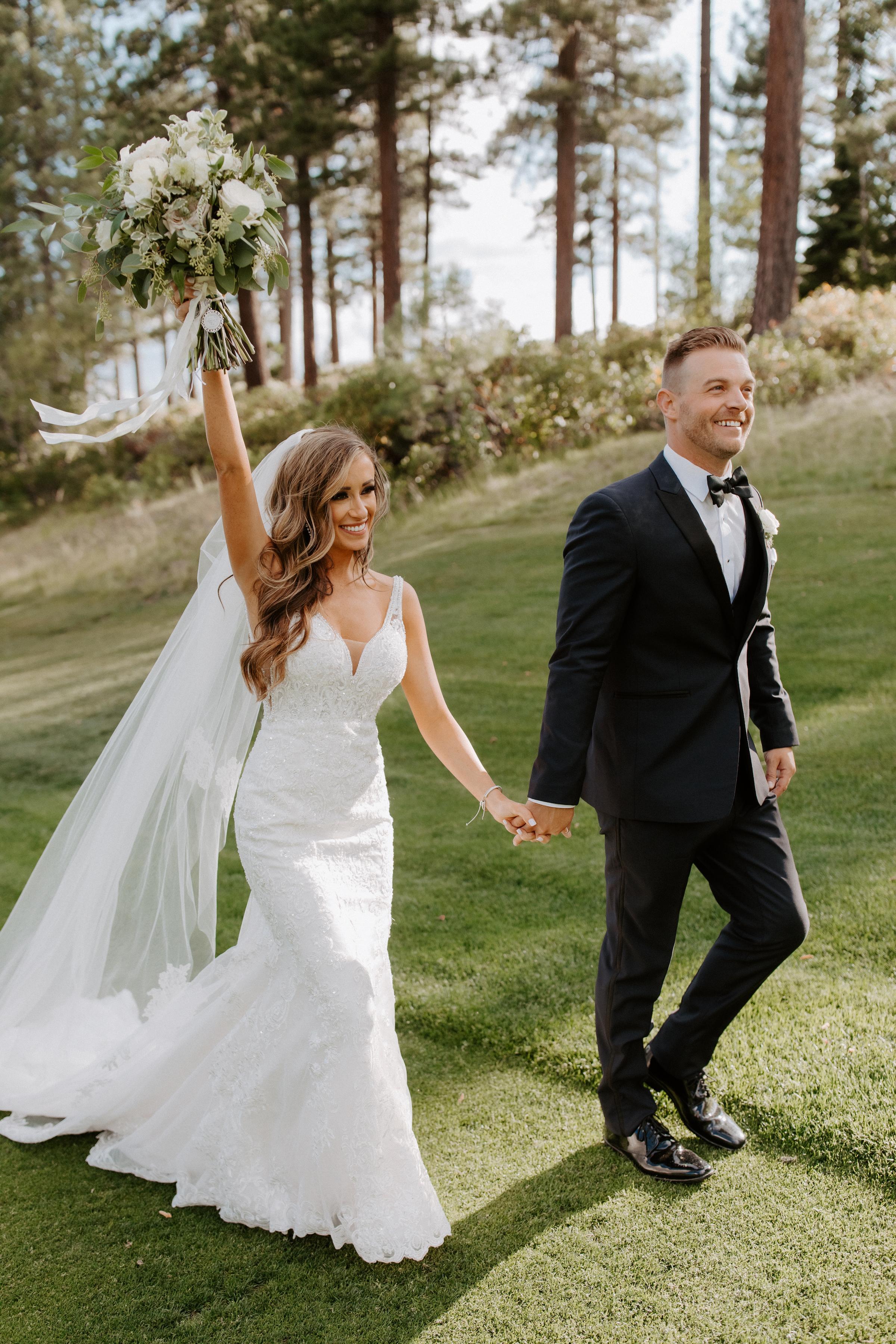 Neutral Toned Timeless Lake Tahoe Wedding Kay Kroshus16