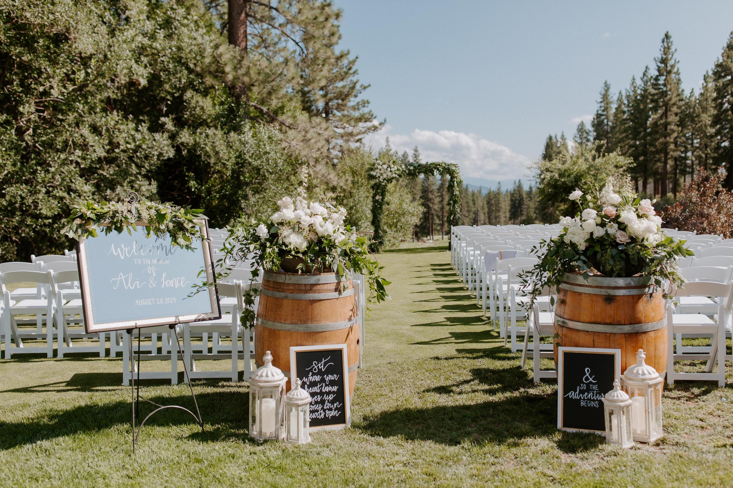 Neutral Toned Timeless Lake Tahoe Wedding Kay Kroshus 2
