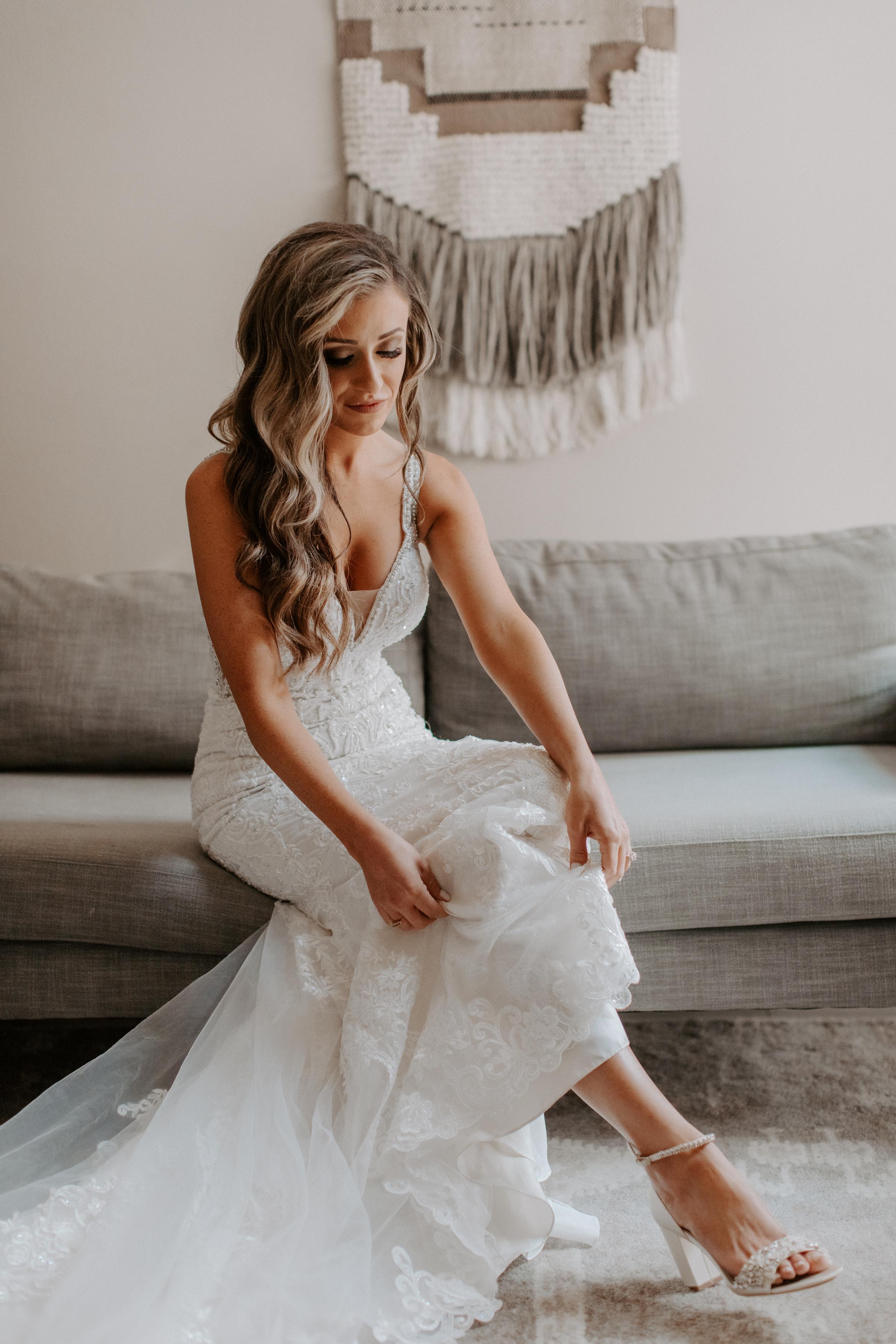 Neutral Toned Timeless Lake Tahoe Wedding Kay Kroshus22