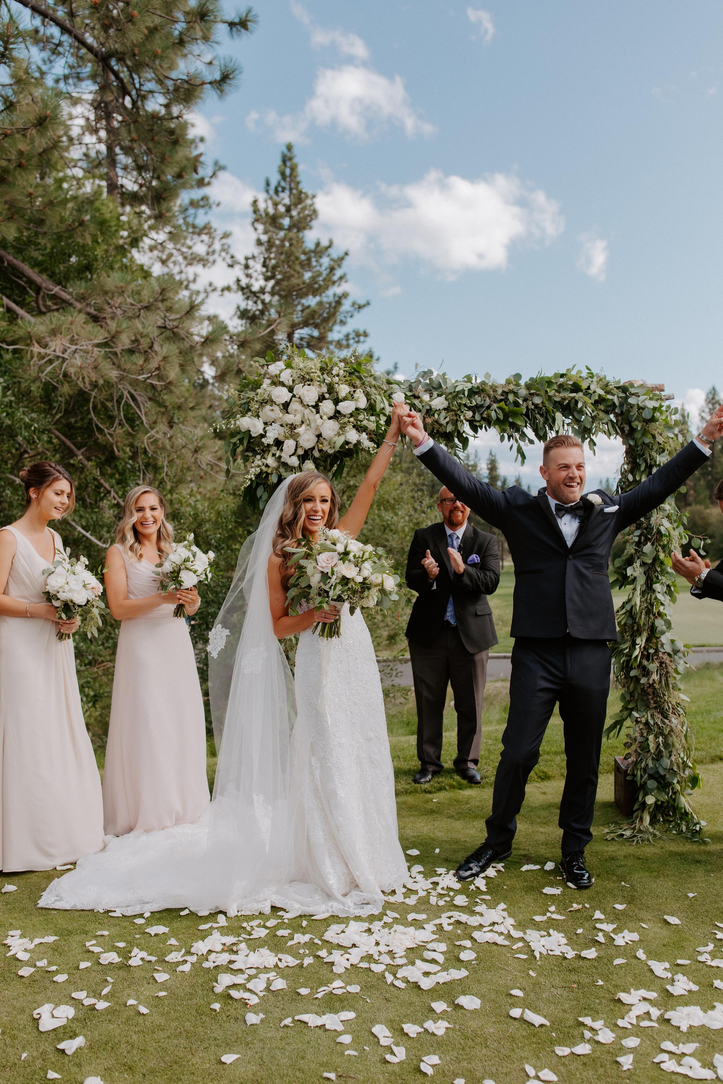 Neutral Toned Timeless Lake Tahoe Wedding Kay Kroshus8