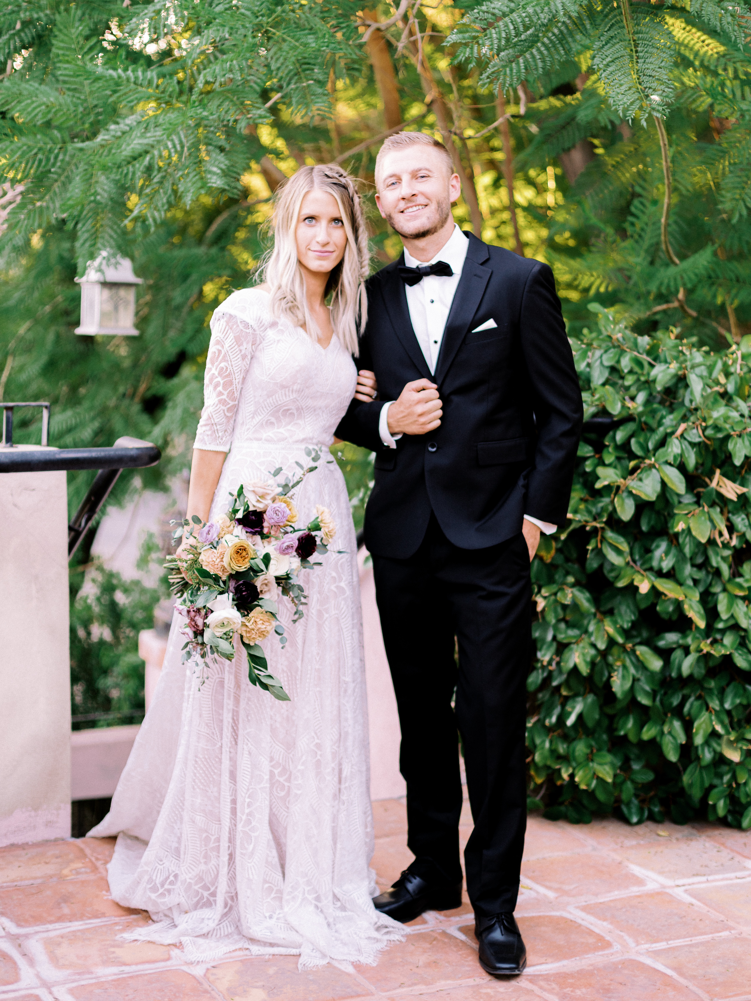 Boho Chic Long Sleeve Wedding Dress Fishtail Braid Wright House Truth And Beauty Photography 7