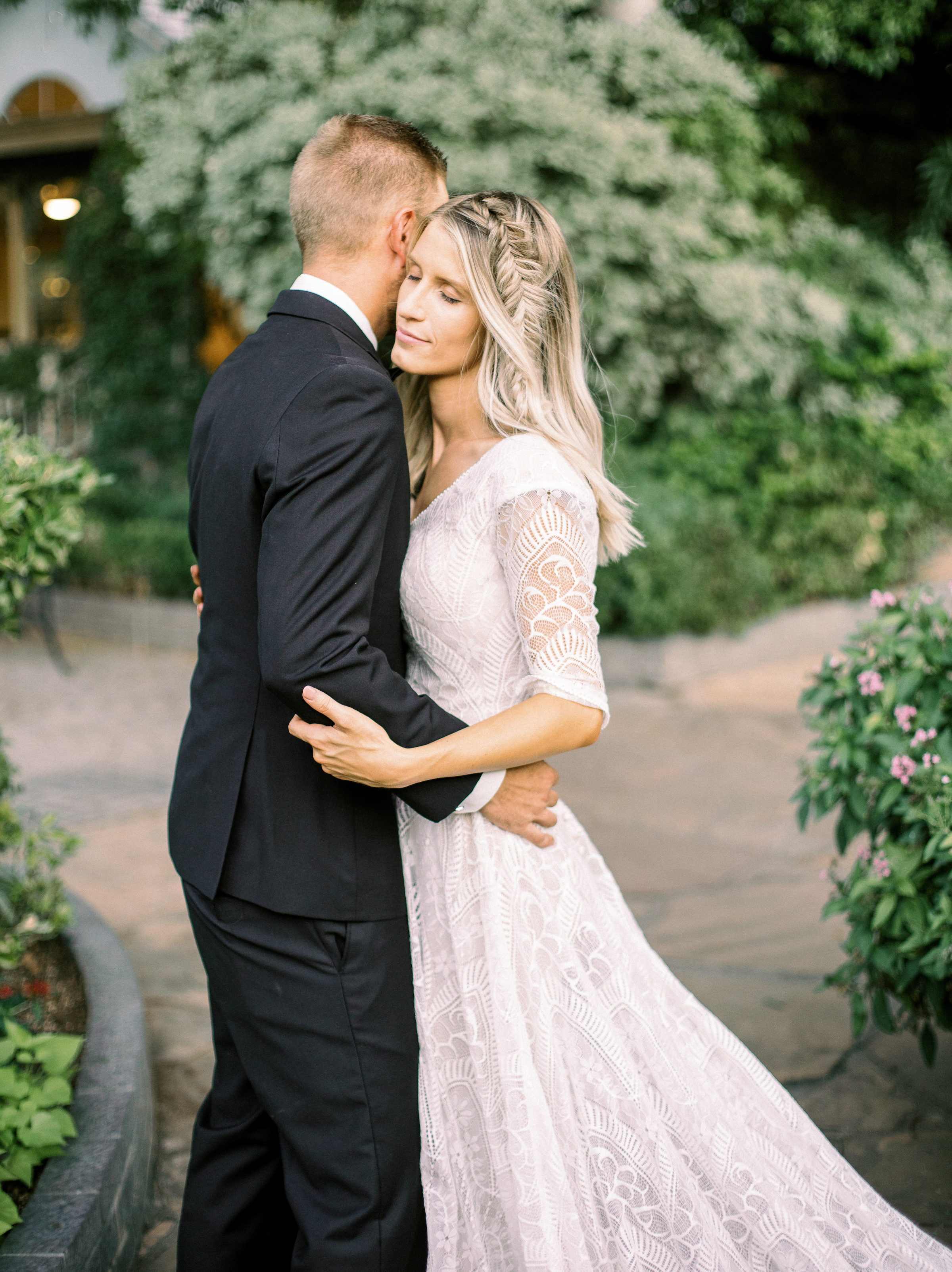 Boho Chic Long Sleeve Wedding Dress Wright House Truth And Beauty Photography 1