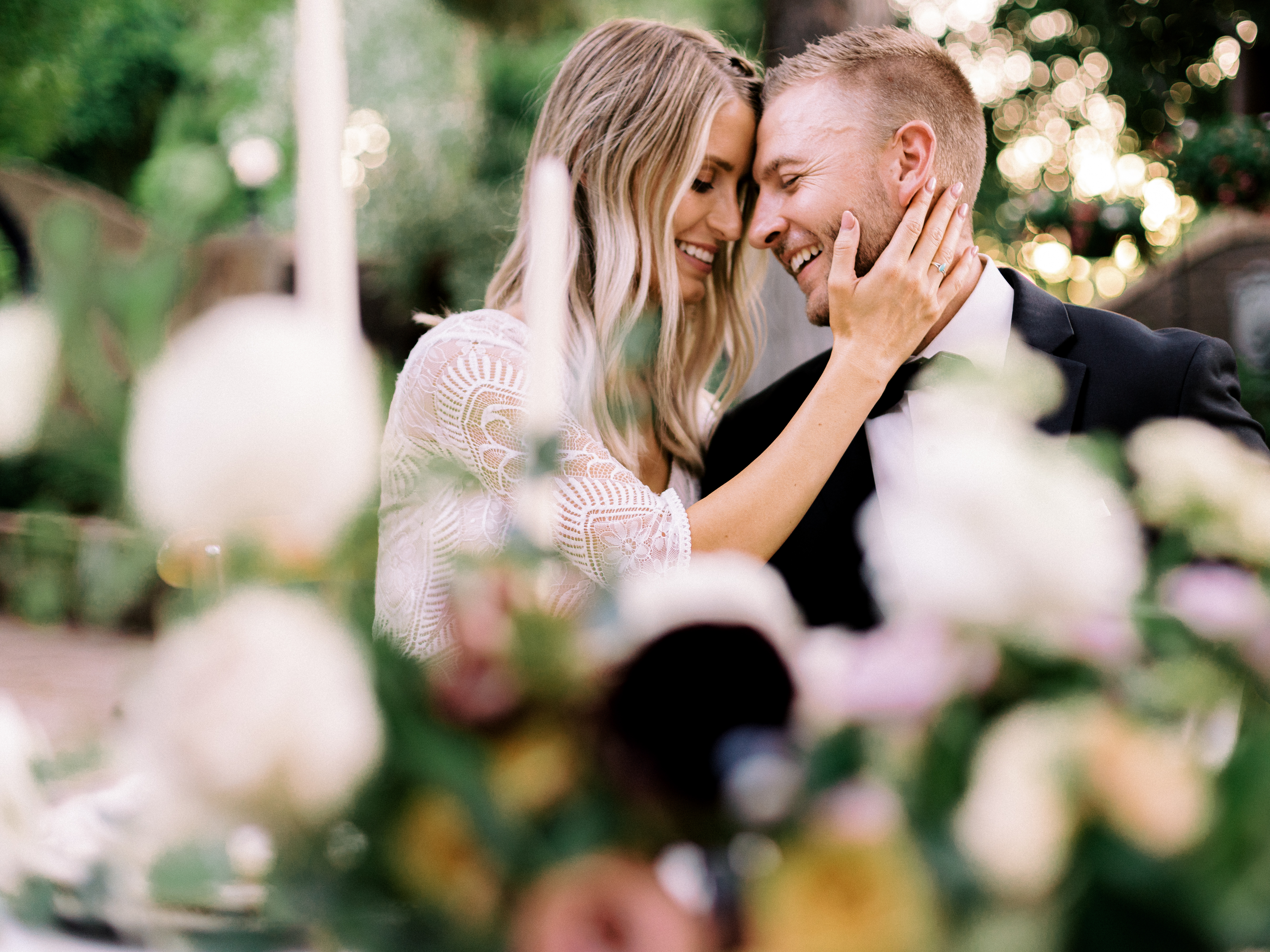 French Chateau Wedding Shoot Romantic Roses Wright House Truth And Beauty Photography3