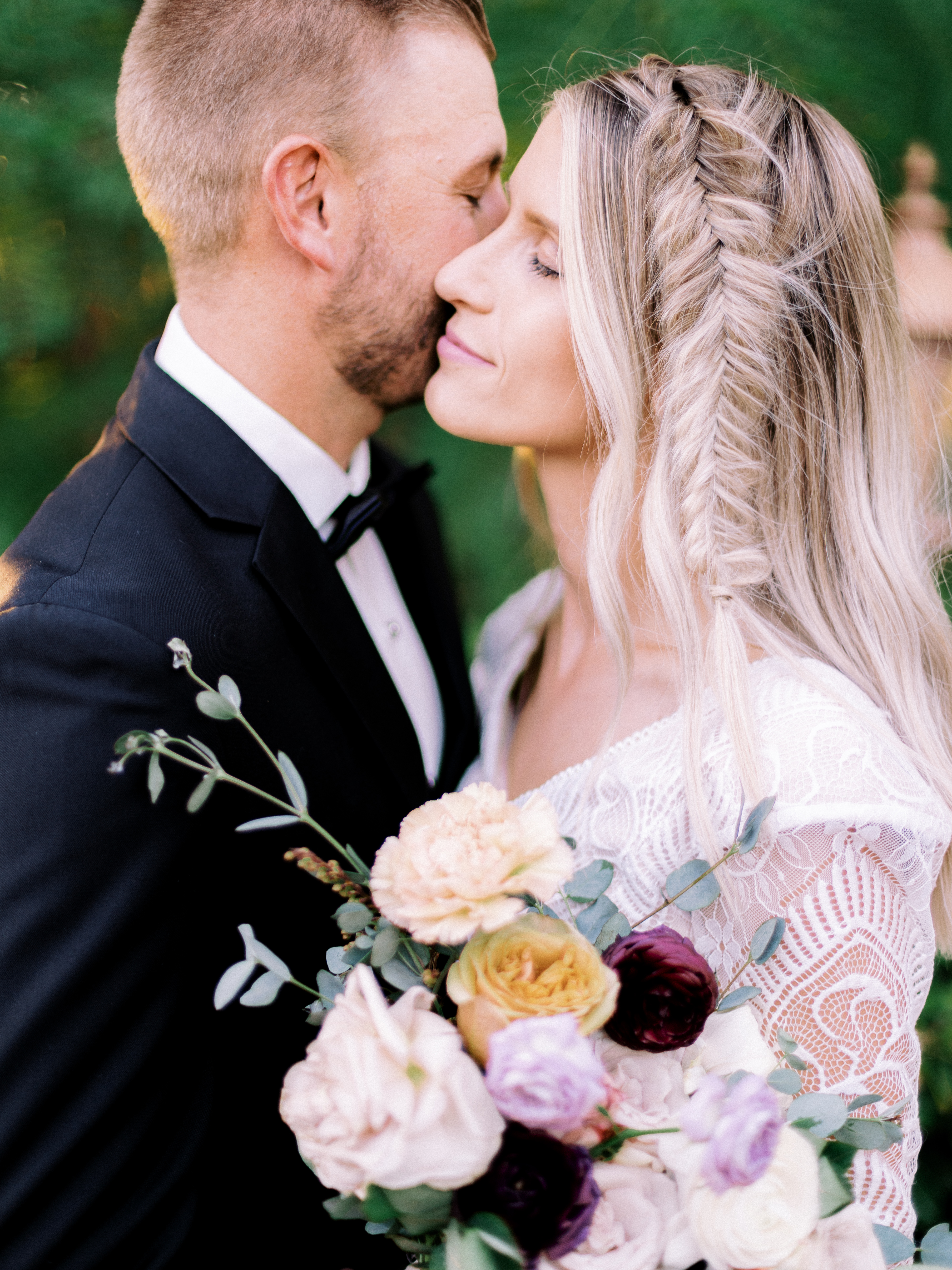 French Chateau Wedding Shoot Romantic Roses Wright House Truth And Beauty Photography7