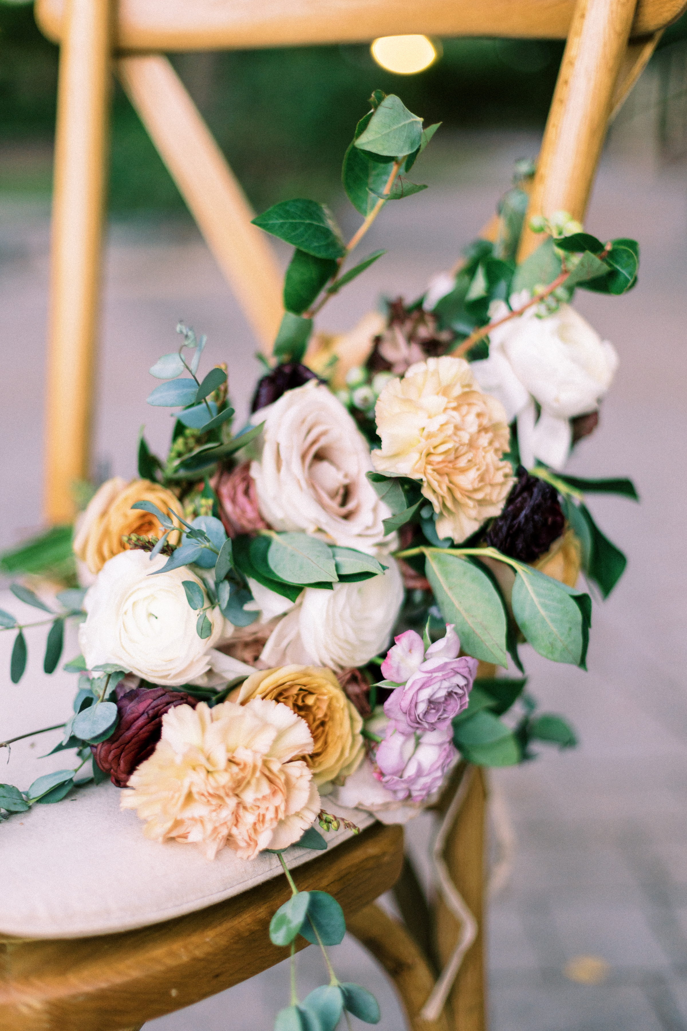 Romantic Modern Rose Bouquet Purple Gold Wright House Truth And Beauty Photography 1