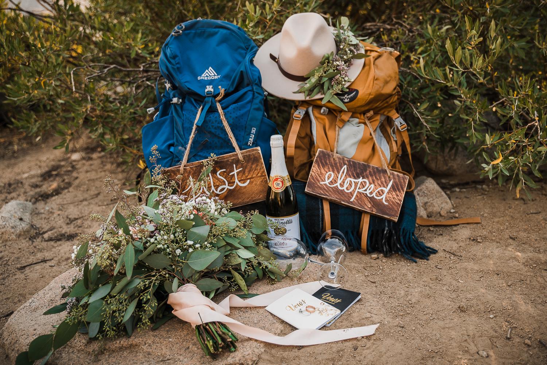Lake Mary Salt Lake City Utah Hiking Elopement Alexandra Amante Forever To The Moon Boho Long Sleeve Wedding Dress 9
